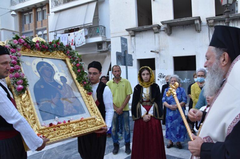 Την Παναγία του Τιχβίν υποδέχθηκε η Χαλκίδα