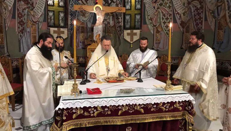 Αγρυπνία του Αγίου Ιακώβου του Αδελφοθέου στην Ι. Μ. Χαλκίδος
