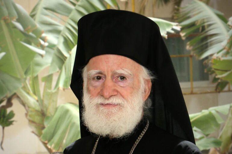 Η Αρχιεπισκοπή Κρήτης για την πορεία της υγείας του Αρχιεπισκόπου Ειρηναίου