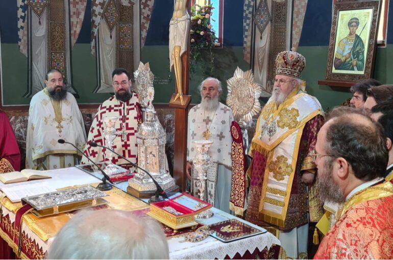 Λάμπρος εορτασμός του Αγίου Δημητρίου στη Νέα Ελβετία Βύρωνος