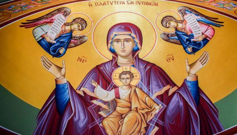 Η Παναγία Σκέπη των Ελλήνων