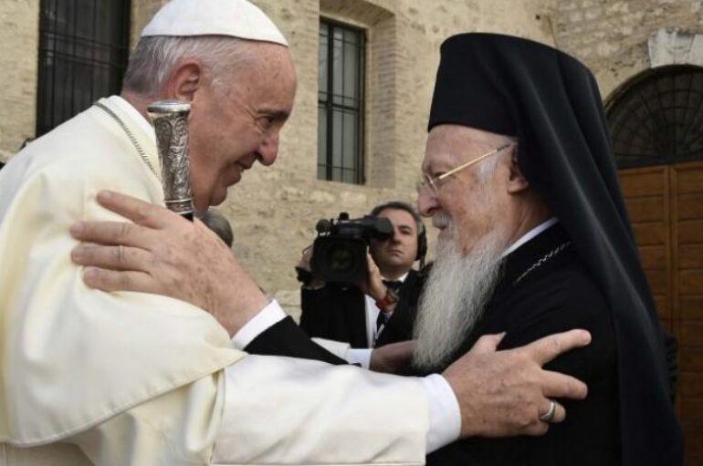 Την Ρώμη θα επισκεφθεί ο Οικουμενικός Πατριάρχης Βαρθολομαίος