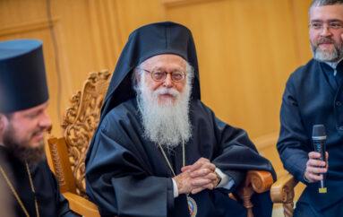 """Αλβανίας: """"Ο Πατριάρχης Ειρηναίος εποίμανε τον λαόν μετ' αυτοθυσίας και συνέσεως"""""""