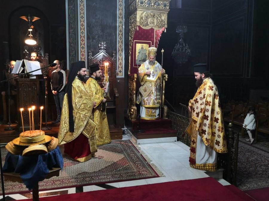 Η εορτή του Αγίου Ανδρέα στην Ι. Μ. Θεσσαλιώτιδος