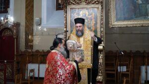 Αρχιερατικός Εσπερινός της Αγίας Βαρβάρας στα Τρίκαλα