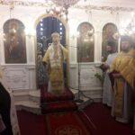Ο Μητροπολίτης Κορίνθου στον Ι. Ν. Ευαγγελισμού της Θεοτόκου Νεμέας