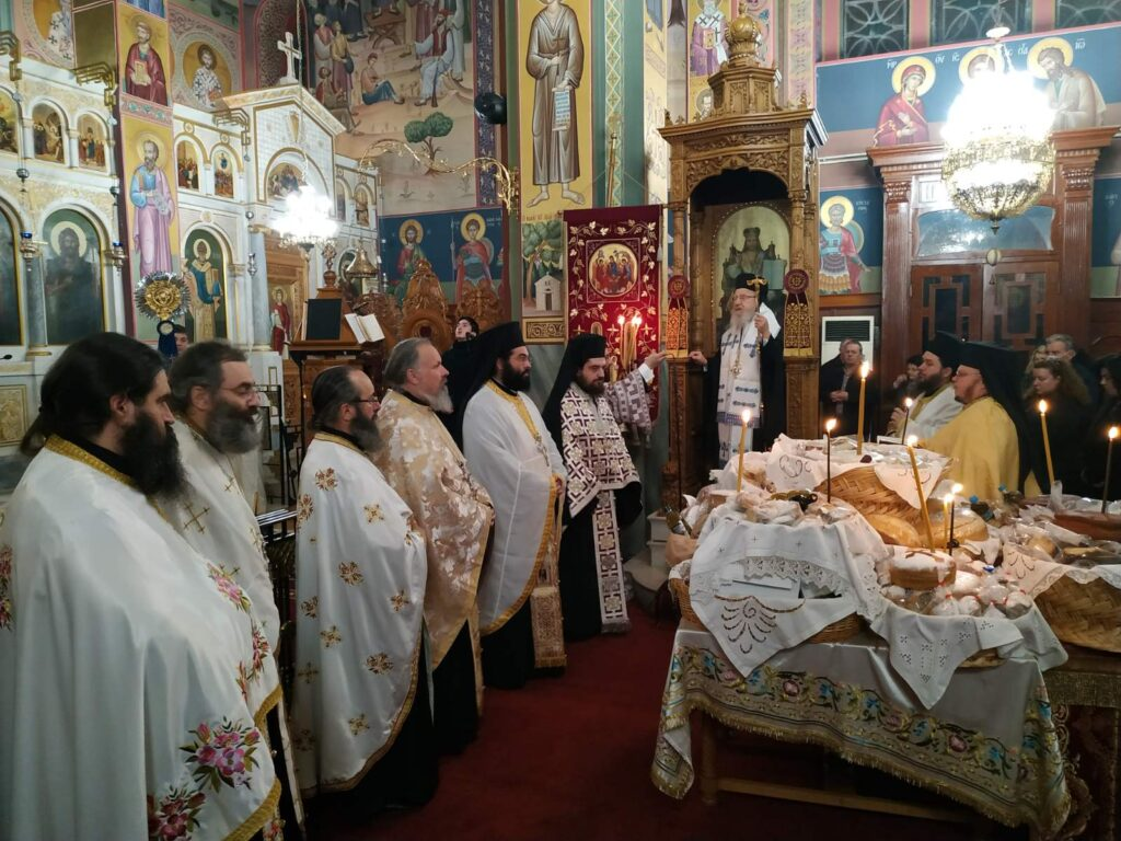 Εορτή της Παναγίας Παραμυθίας στο Αγρίνιο
