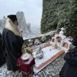 Μνημόσυνο της μακαριστής Ηγουμένης της Ι. Μ. Ρουσάνου Μετεώρων