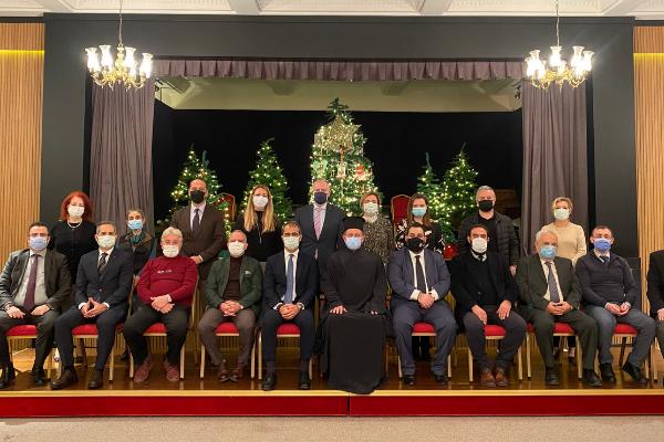 Οι Κοινότητες του Βοσπόρου υποδέχθηκαν τον Μητροπολίτη Κυδωνιών