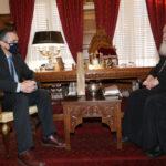 Ο Περιφερειάρχης Δυτ. Μακεδονίας στον Αρχιεπίσκοπο Ιερώνυμο