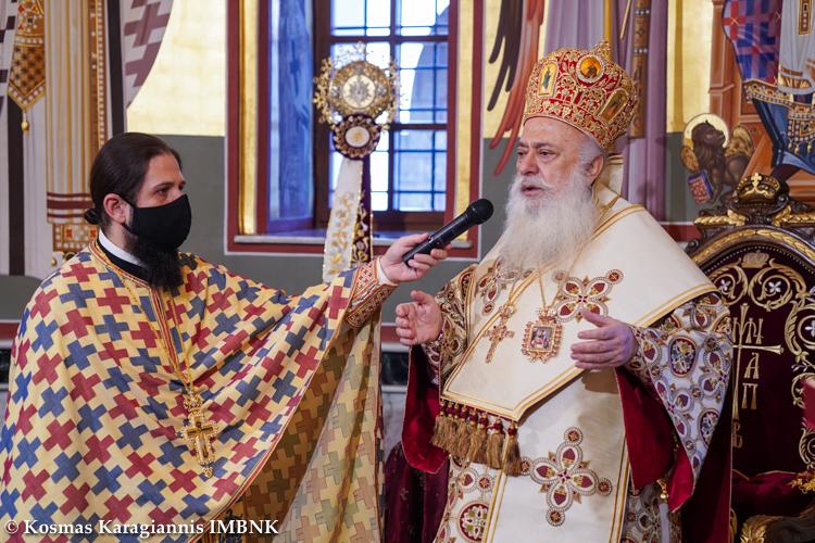 Η εορτή του Αγίου Γρηγορίου στον Μητροπολιτικό Ναό Βεροίας