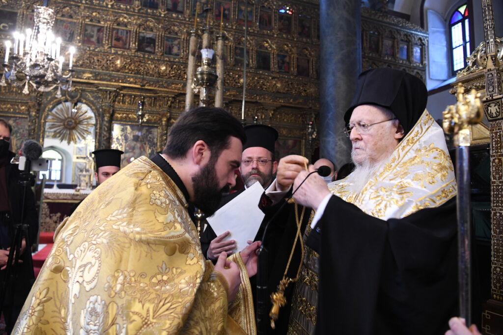 Νέος Μέγας Αρχιμανδρίτης του Οικ. Πατριαρχείου ο π. Αγαθάγγελος Σίσκος