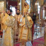 Ο Μεσσηνίας Χρυσόστομος στον Ι. Ναό Αναστάσεως του Χριστού Καλαμάτας