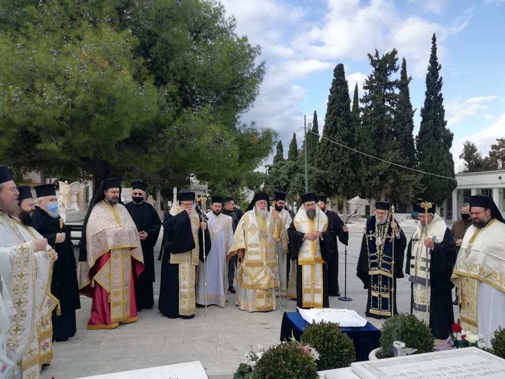 Πολυαρχιερατικό Μνημόσυνο για τον Αρχιεπίσκοπο Χριστόδουλο