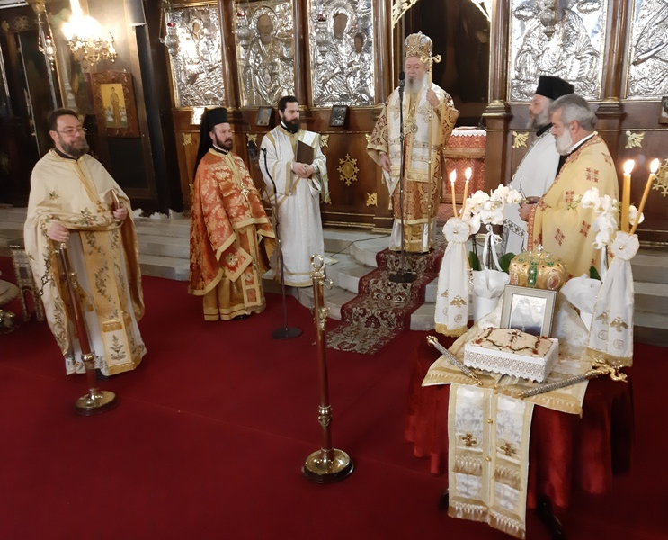 Εορτή Ανακομιδής Λειψάνων του Αγίου Χρυσοστόμου στη Χαλκίδα