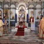 Ο Μητροπολίτης Χαλκίδος στην Παλαιοχριστιανική Βασιλική της Αγίας Παρασκευής
