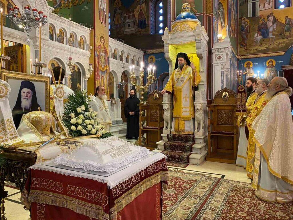 Ετήσιο Μνημόσυνο μακαριστού Μητροπολίτη πρ. Ν. Ιωνίας Κωνσταντίνου