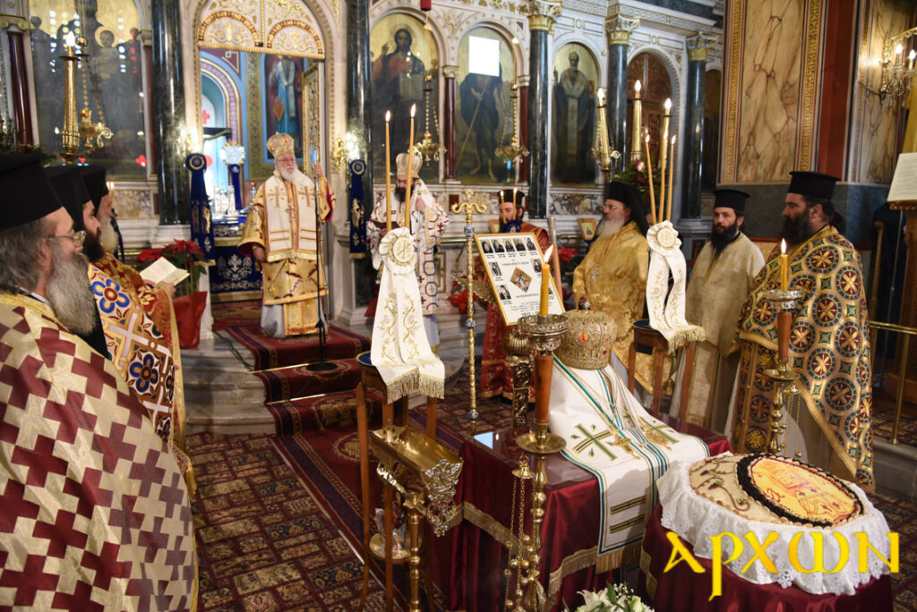 Μνημόσυνο διατελεσάντων Αρχιερέων της Ι. Μ. Μαντινείας