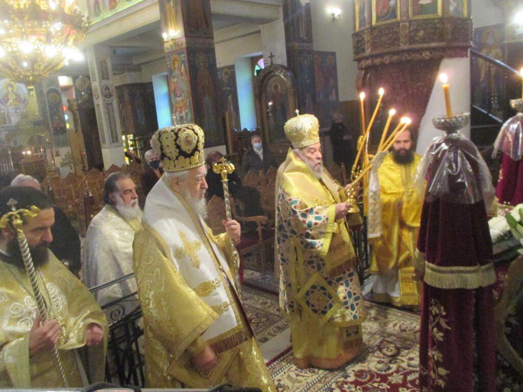 Τον Άγιο Αθανάσιο τίμησαν στην Μητρόπολη Καρυστίας