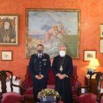 Ο νέος Αστυνομικός Δ/ντης Νοτίου Αιγαίου στον Μητροπολίτη Σύρου