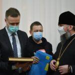 Συνάντηση του Μητροπολίτη Κιέβου Επιφανίου με τον ΥΠΕΞ της Λιθουανίας