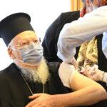 Τη δεύτερη δόση κατά Covid-19 έλαβε ο Οικουμενικός Πατριάρχης