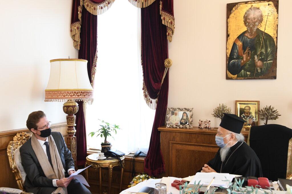 Στον Οικ. Πατριάρχη ο επικεφαλής της Αντιπροσωπείας της Ε.Ε. στην Άγκυρα