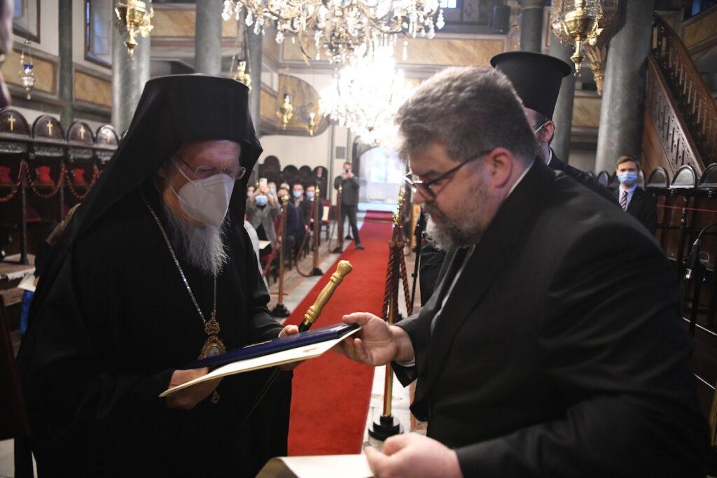"""Οικ. Πατριάρχης: """"Η Αυτοκεφαλία ήταν μια πράξη ευθύνης της Μητρός Εκκλησίας"""""""