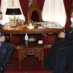 Συνάντηση Αρχιεπισκόπου με τον Υφυπουργό Παιδείας Αγγ. Συρίγο