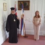 Ο Μητροπολίτης Θυατείρων στην Πρεσβεία της Σερβίας στο Λονδίνο