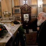 """Αρχιεπίσκοπος: """"Να αγωνιζόμαστε, όπως μας έμαθε ο Άγιος Γρηγόριος E΄"""""""
