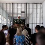 Περιφορά του Επιταφίου στις φυλακές Κορυδαλλού