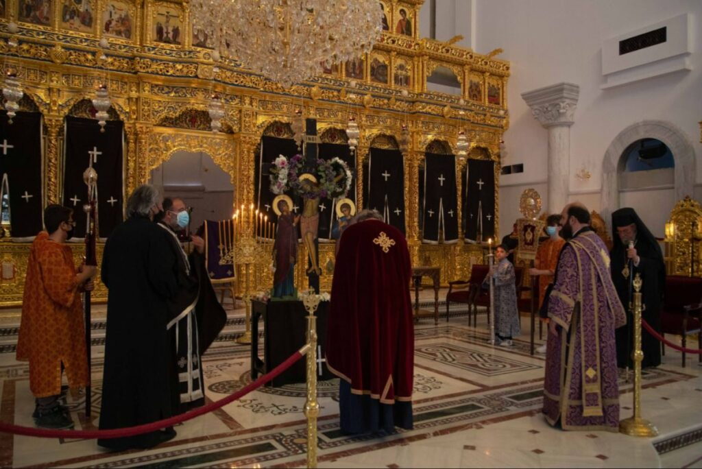Η Ακολουθία των Αγίων Παθών στην Αρχιεπισκοπή Κύπρου