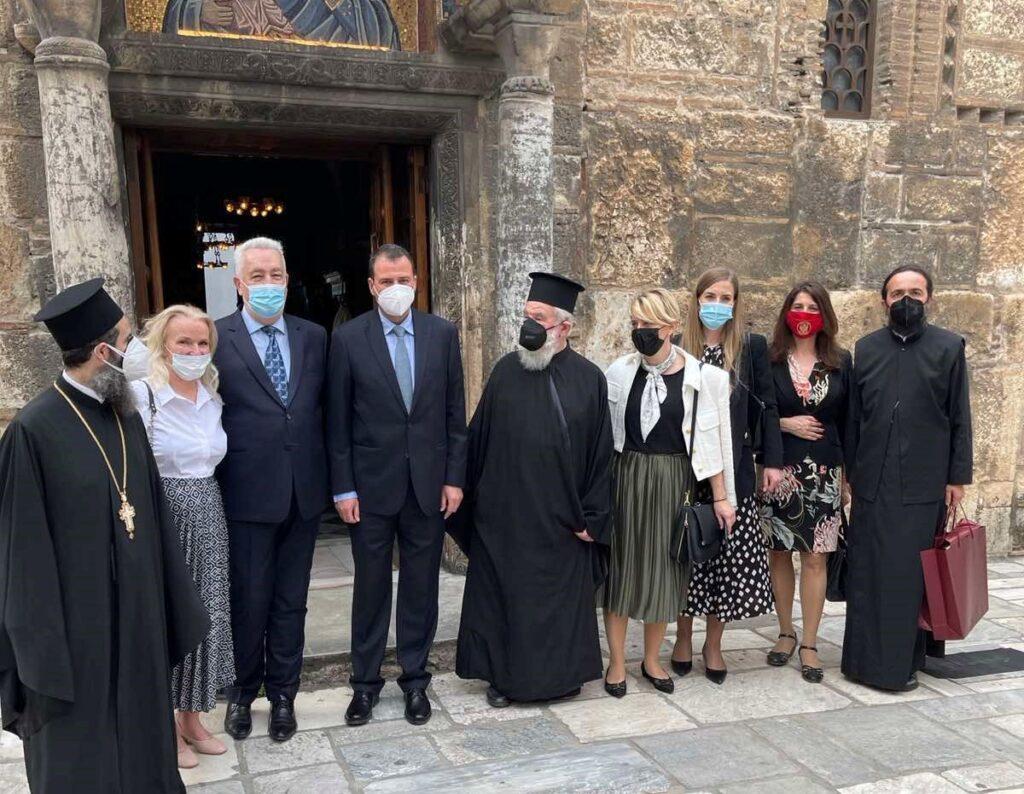 Ο Πρωθυπουργός του Μαυροβουνίου στον Ι. Ναό Εισοδίων της Θεότοκου Καπνικαρέα