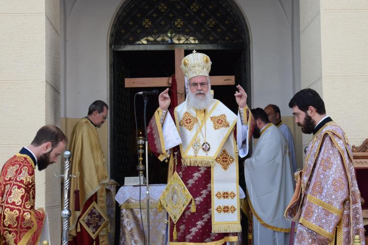 Η εορτή της Ζωοδόχου Πηγής στην Ιερά Μητρόπολη Ιλίου