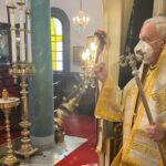 Ο Μητροπολίτης Χαλκηδόνος στον Ι. Ναό Αγίου Γεωργίου Γελδέριγμεν
