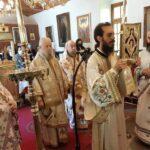 Η εορτή του Οσίου Σεραφείμ του εν Δομβού στην Ι. Μ. Καρυστίας