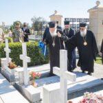 Ο Αρχιεπίσκοπος Ιερώνυμος στα Μνημεία των Ηρώων της Κύπρου