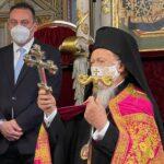 Εσπερινός Ονομαστηρίων του Οικ. Πατριάρχη Βαρθολομαίου