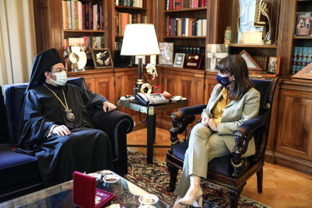 Στην Πρόεδρο της Δημοκρατίας ο Μητροπολίτης Μπουένος Άιρες Ιωσήφ