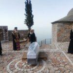 Το σκήνωμα του Μητροπολίτη Κινσάσας στο Άγιον Όρος