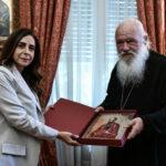 Συνάντηση Αρχιεπισκόπου με την Αναπληρώτρια Πρωθυπουργό του Λιβάνου