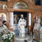Ο Επίσκοπος Ωρεών στον Ι. Ναό Τιμίου Προδρόμου Αμαρύνθου