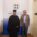 Συνάντηση του Μητροπολίτη Μεσσηνίας με τον Περιφερειάρχη Πελοποννήσου