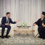 Συνάντηση του Οικ. Πατριάρχη με τον Πρόεδρο της Ουκρανίας