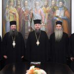 Συνάντηση του Ουκρανίας Επιφανίου με Αγιορείτες Πατέρες