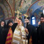 Δοξολογία για την άφιξη του Οικουμενικού Πατριάρχη στο Κίεβο