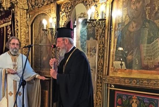 Αρχιεπίσκοπος Κύπρου: «Όποιος έχει πίστη δεν φοβάται τον διάβολο»