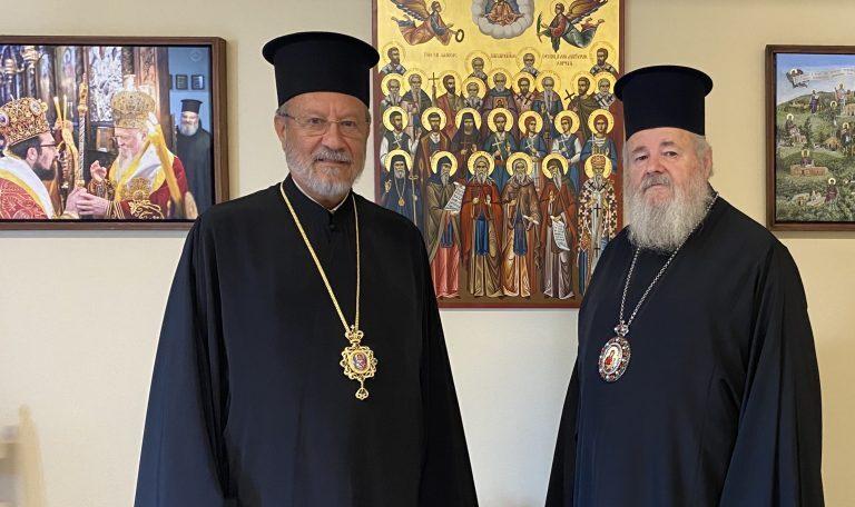 Ο Επίσκοπος Κεράμων στην Ι. Μητρόπολη Κυδωνίας