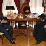 Συνάντηση Αρχιεπισκόπου με Βουλευτή Μακάριο Λαζαρίδη